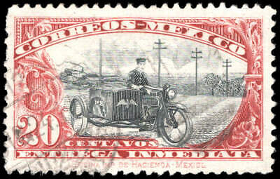 Scott # E2 - 1923 - ' Motorcycle Postman '