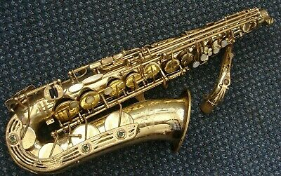 Yamaha Yas 61 Professional model Alto Saxophone In Excellent Play Condition