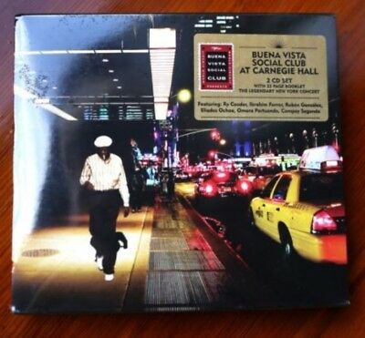 Buena Vista Social Club Live at Carnegie Hall 2 CD Excellent Condition Ry Cooder