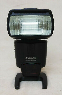Canon Speedlite 430EX Mount Flash with Stand and Original Case