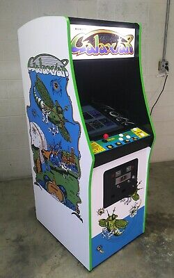 Restored Original Galaxian Arcade Machine, Upgraded, w/LCD and 60 Classic Games