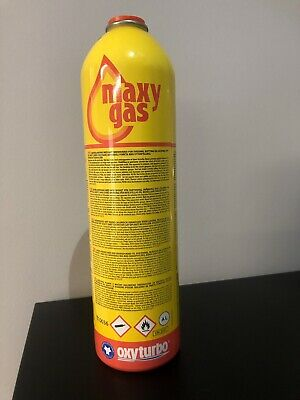 Maxi Gas Disposable Gas Cylinder for Oxyturbo 90 / 1000 Welding Kit  E47