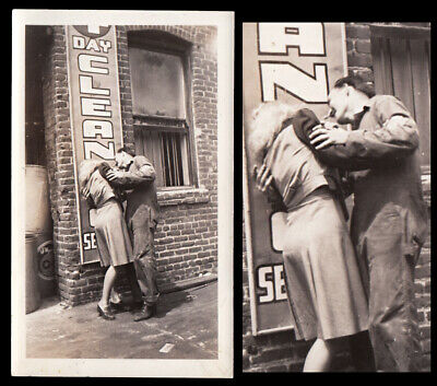 DEMONIC POSSESSION WOMAN THRASHES on CLEANER SIGN ~ 1930s VINTAGE PHOTO