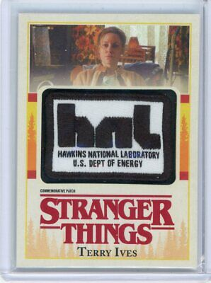 2018 Topps Stranger Things Season 1 Commemorative Patch SP Terry Ives HNL