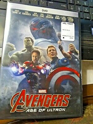 : Age Of Ultron (Dvd, 2015) -  Avengers New & Sealed*