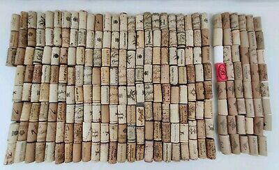 All Used-- Lot Of 187 Natural Corks 47 Synthetic Corks For Arts & Craft Projects