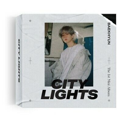 EXO Baekhyun-[City Lights]1st Mini Album Kihno Kit+Booklet+PhotoCard+Gift