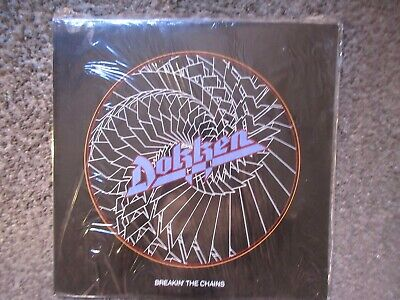 """Dokken """"Breakin' The Chains"""" 1981 Carrere Records Uk Nm/Nm In Shrink Oop Rare Lp"""