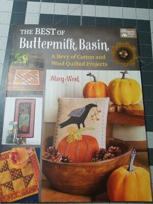 The Best Of Buttermilk Basin - Cotton And Wool Quilted Projects - A+ New Book