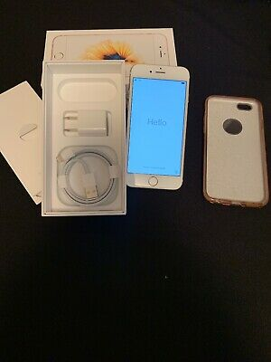Apple iPhone 6s - 64GB - Rose Gold  (Unlocked) A1633 (CDMA + GSM) With Box