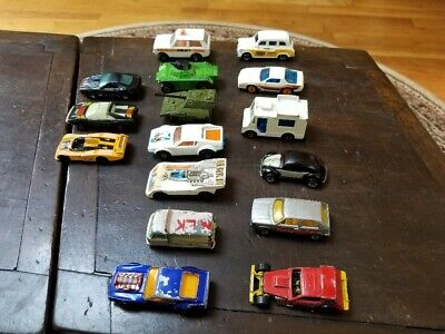 Vintage Lot of 18 Hot Wheels, Matchbox, Tomica & Kidco - Nice - NR