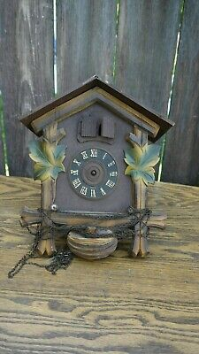 regula partial musical cuckoo clock for parts