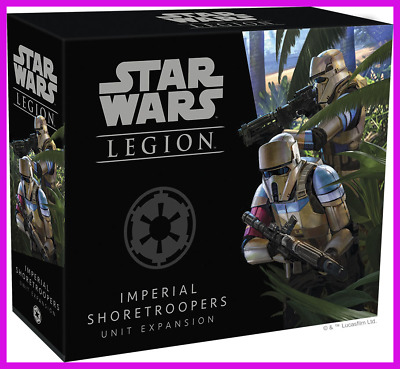 Star Wars: Legion - Imperial Shoretroopers Unit Expansion - NEW IN BOX