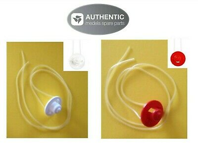 MEDELA SNS replacement tubing: SMALL w/RED valve OR MEDIUM w/WHITE valve