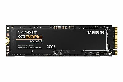 Samsung 970 EVO Plus 250GB SSD NVMe 1.3 M.2 2280 Solid State Drives