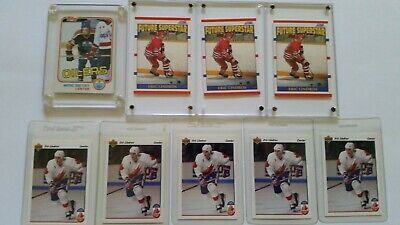 Hockey card collection-Gretzky, Lindros, Hull, Jagr, Nedved, Bure, Sundin, RC,..