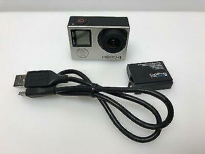 Gopro Hero4 Silver Edition 4K Sports Action Camera Camcorder CHDHY-401
