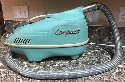 Retro IEC Compact Canister Vacuum Cleaner C-4. 23rd Anniversary Model Used Works