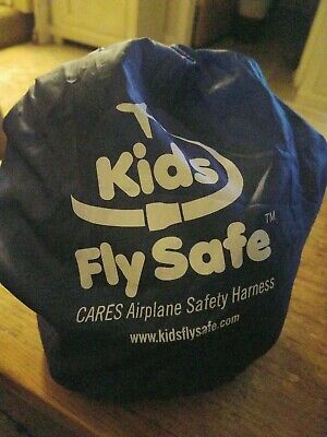 New Kids Fly Safe Cares Airplane Safety Harness