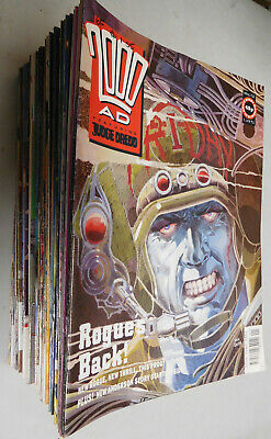 2000 AD 1991 lot of 52 comics from Prog 712 - 763 VF Judge Dredd Nemesis ABC PSI