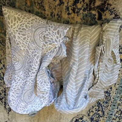 Lot Of 2 Nursing Covers Boppy And Bebe Au Lait