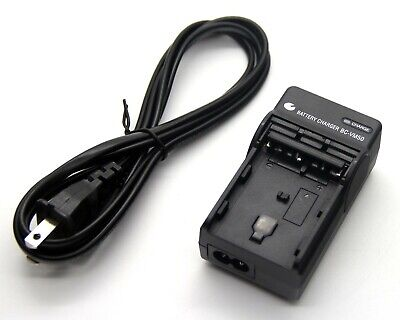 Battery Charger for Sony NP-QM91 NP-QM91D NP-FM500 NP-FM500H NP-FM55H BC-VM10