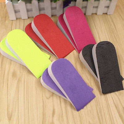 EVA Cushion Pads Heel Insert Increase Taller Height Lift Shoes Insoles Unisex