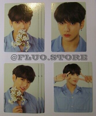BTS Jungkook Love Yourself World Tour Official MD Mini Photocard