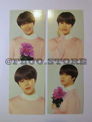 BTS Jimin Love Yourself World Tour Official MD Mini Photocard