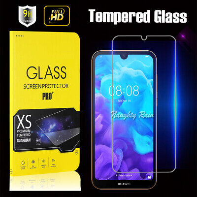 For Huawei Y5 2019 Tempered Glass Screen Protector Scratch Resist Film Guard