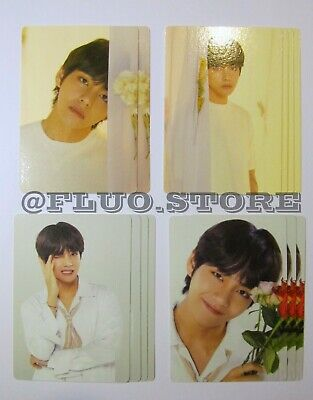BTS V Love Yourself World Tour Official MD Mini Photocard