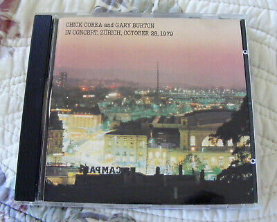 Chick Corea & Gary Burton In Concert Zurich October 28 1979 Ecm Cd Ex Condition