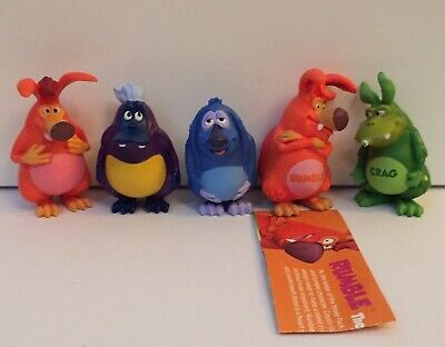 Collectable Yowie figures x 5