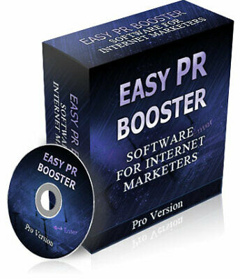 Easy PR Booster W/ Master Resell Rights + 10 Bonus Software