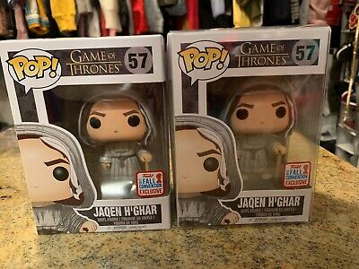 Funko Pop Game of Thrones Jaqen H'Ghar (NYCC Exclusive) (RARE) with hard stack