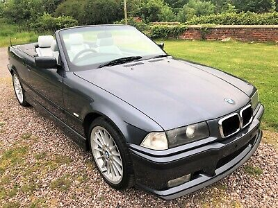 BMW 328i E36 *AUTO CONVERTIBLE SPECIAL ORDER FJORD GREY *SPORT KIT*NEW HOOD*