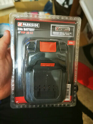 PARKSIDE 20v 2Ah Cordless Battery Compatible With Tools X 20V Team