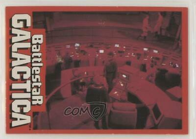 1978 Wonder Bread Battlestar Galactica #8 Red Alert Control Room Card 7sd