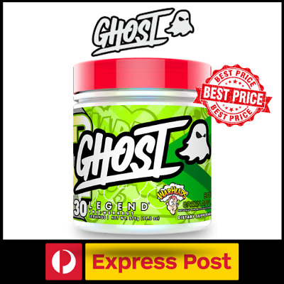 GHOST LIFESTYLE LEGEND Pre Workout for Increased Energy Preworkout 30 Serves