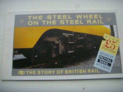 """Gb Stamps """" The Story Of British Rail """" £5 Prestige Booklet Fine Look"""