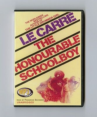 The Honourable Schoolboy - by John le Carre - Unabridged Audiobook - MP3CD