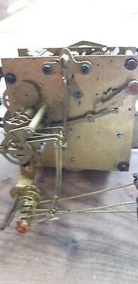 Clock mechanism.  Brass.  Mantel. Steam punk. Crafts.