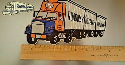 Roadway Trucking Co. Patch And Refrigerator Magnut