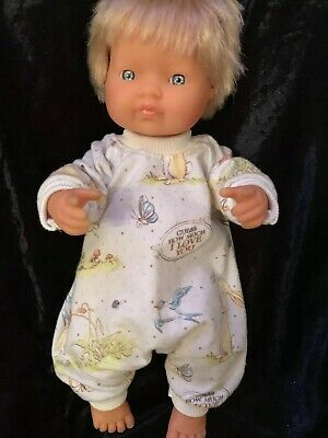 Dolls clothes made to fit 38cm Miniland  Dolls (size Small).  All In One Suit