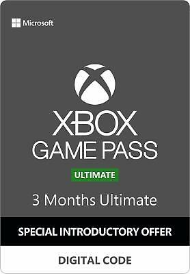 Xbox Game Pass Ultimate First Time Users 3 Month Code
