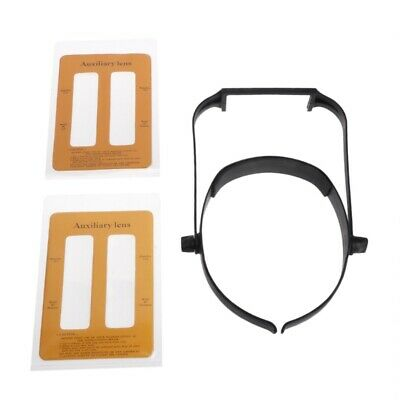 1.6x 2.0x 2.5x 3.5x Head Replaceable Lens Headband Loupe Magnifier Magnify Glass