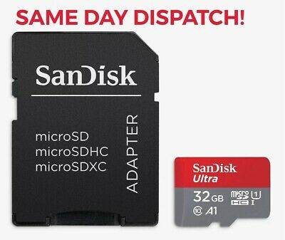 Genuine SanDisk Ultra 32 GB micro SD SDXC Memory Card UHS-I Class 10 80Mb/s 64gb