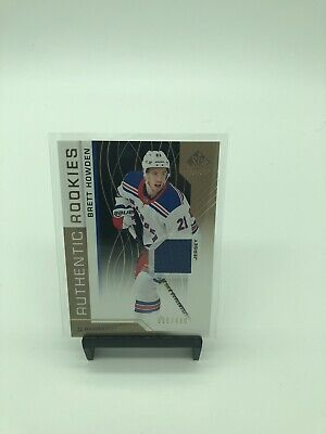 Brett Howden Authentic Rookie Jersey 2018-19 SP Game Used 395/499