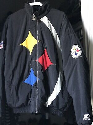 pretty nice 5da20 8d3c6 VINTAGE PITTSBURGH STEELERS Nfl Pro Line Starter Winter Coat ...