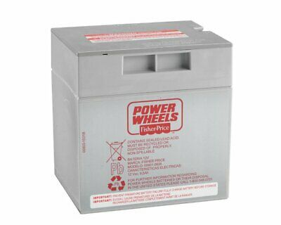 Fisher Price Power Wheels Ride-On 12 Volt Rechargable Replacement Battery 74777